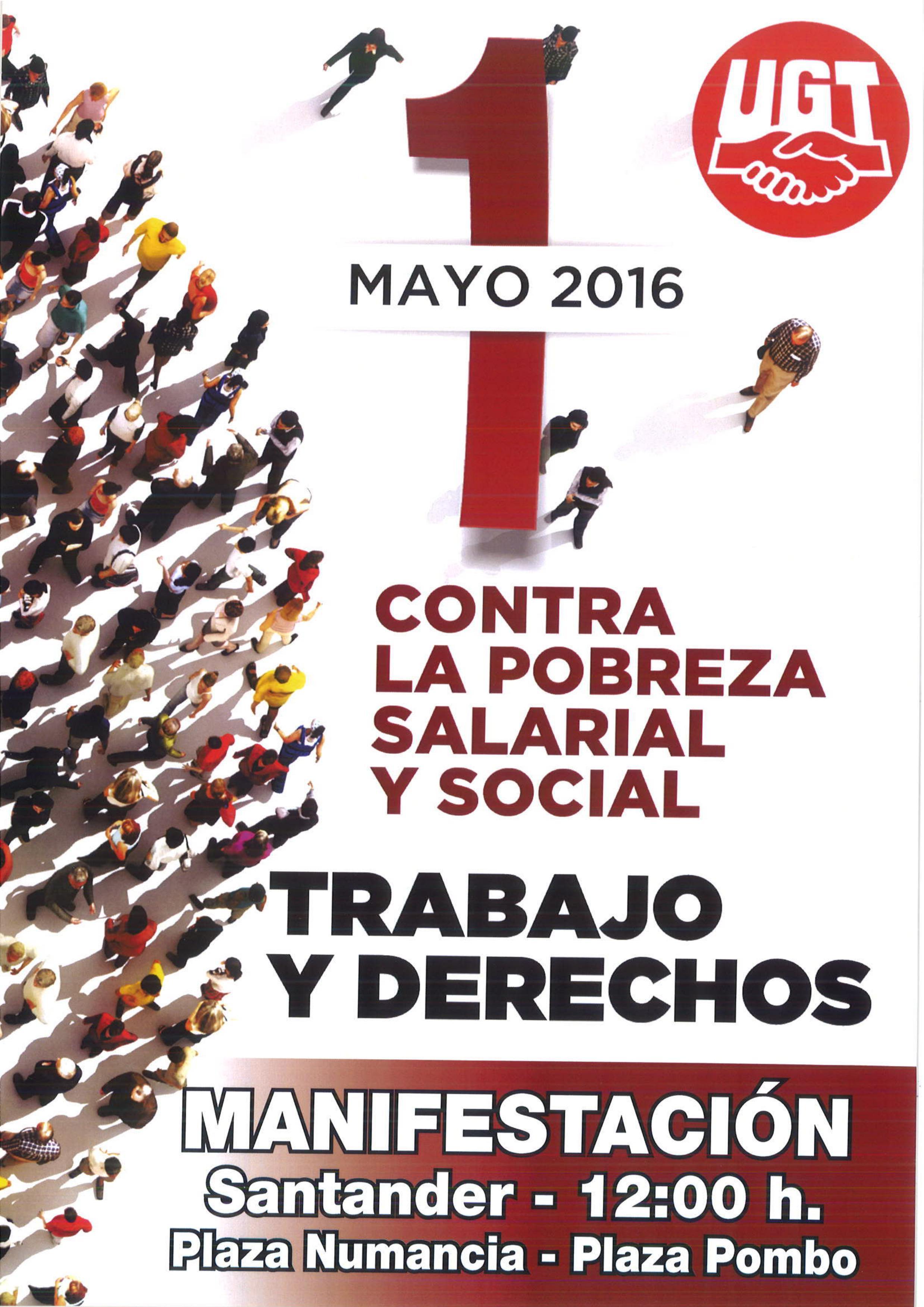 MANIFESTACION 1 DE MAYO 2016