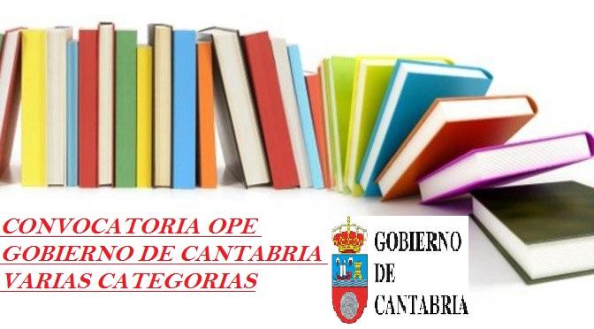 OPE GOBIERNO DE CANTABRIA