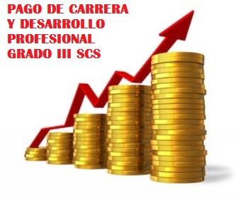 PAGO DE CARRERA GRADO III