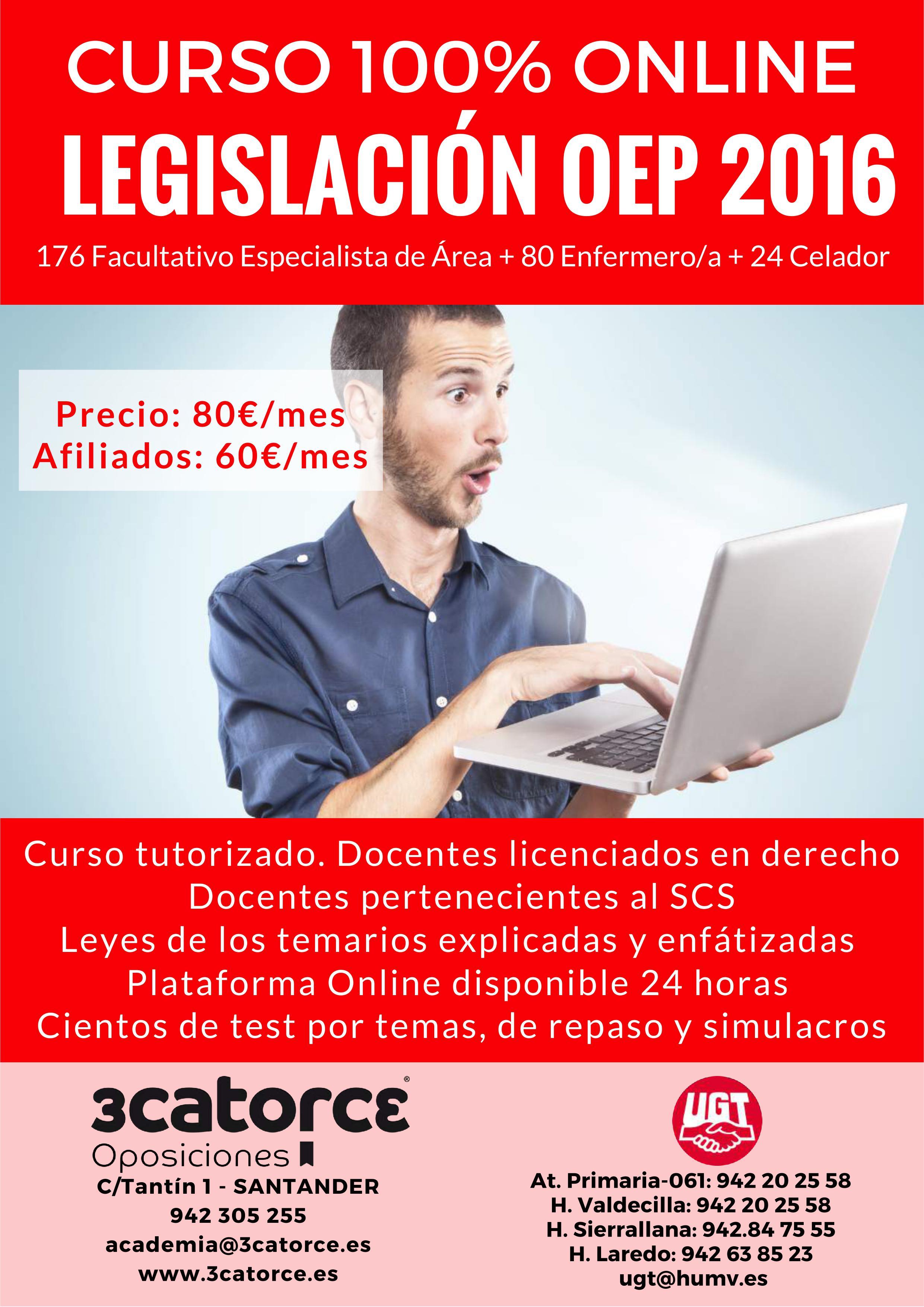 PREPARACION OPE 2016 PARTE DE LEGISLACIÓN