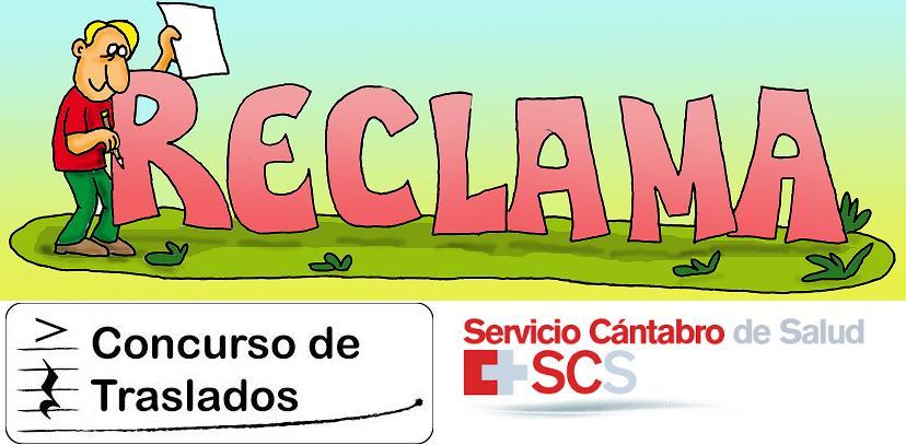 Reclama CONCURSO DE TRASLADOS