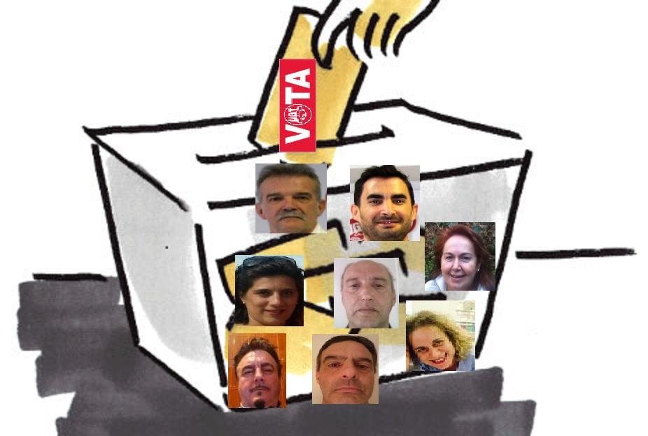 urna candidatos area IV