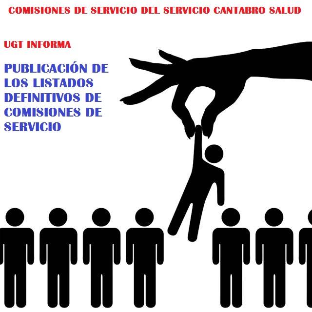 COMISONES DE SERVICIO